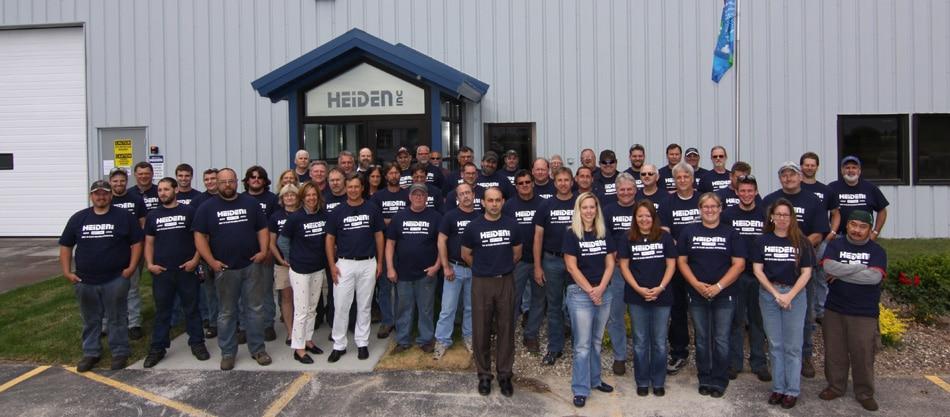 Heiden Company group photo