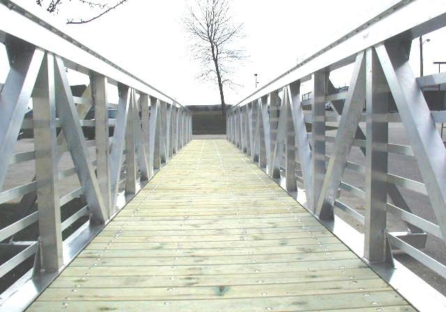 Aluminum Walking Bridge