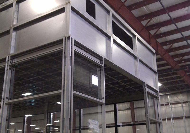 Steel Paint Booth